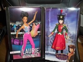 Laurie Hernandez & Clara's Soldier Uniform Skipper Nutcracker Barbie Dol... - $45.00