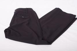 Ann Taylor LOFT Womens Sz 4 Curvy Julie Fit Black Crop Pants Polyester Blend - $19.79