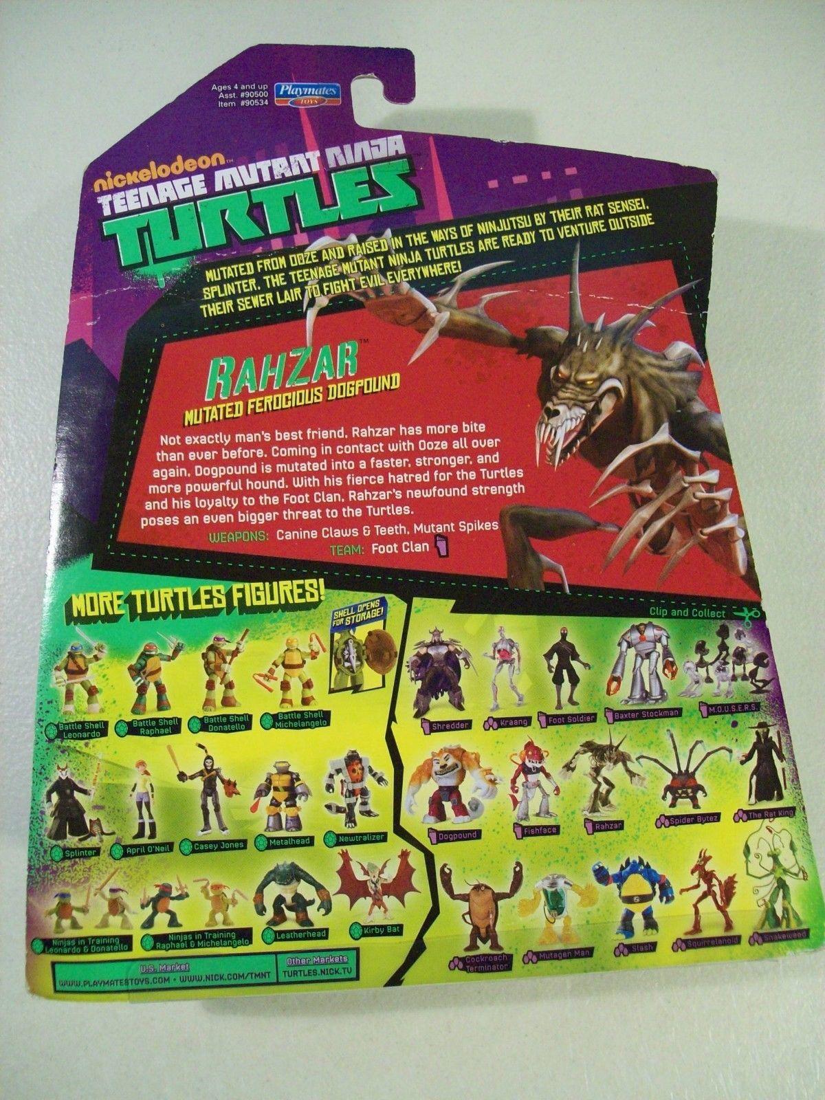 """2014 Rahzar Mutated Dogpound 5.5/"""" Action Figure Teenage Mutant Ninja Turtles"""