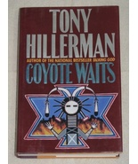 Coyote Waits by Tony Hillerman HBDJ 1st Edition 1990  - $5.99