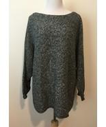 Lauren Ralph Lauren LRL Womens Black Sweater Dolman Sleeve Knit Boat Nec... - $24.95