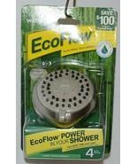 Waterpik Brand VBE429 Brushed Nickel Color EcoFlow Shower Head - $22.99