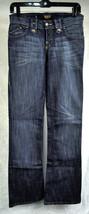 Rock & Republic Jeans Issac Alpha Gold Silver Metallic Rs Blue 26 USA Wo... - $34.55