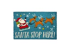 Northeast Home Goods Holiday Entryway Coir Doormat, 18-Inch x 28-Inch (S... - $44.10