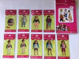 American Girl Crafts Lot Of Bubble Stickers Nip & Sticker Pad 190 Total Sticker - $20.80