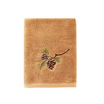 SKL Home by Saturday Knight Ltd. Pinehaven Bath Towel, Wheat - $19.03