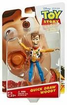 Disney Pixar Toy Story Quick Draw Woody Figure - $40.94