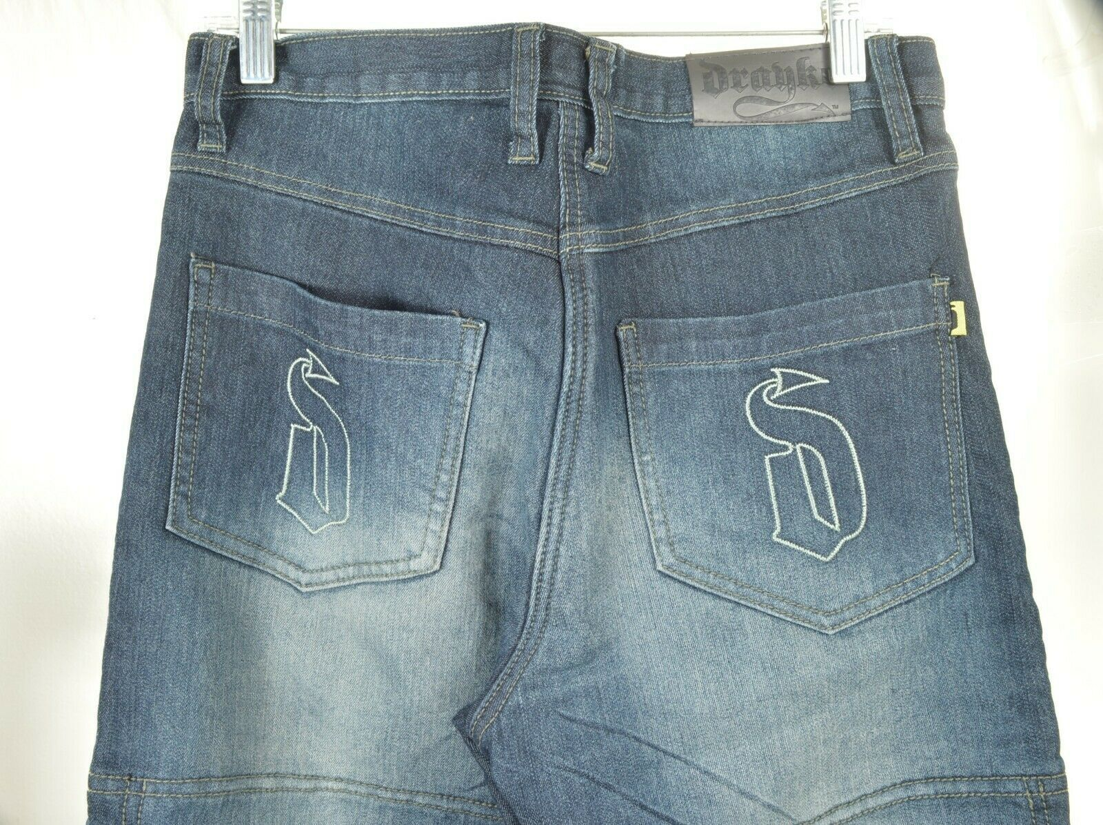 Drayko Jeans Mens 30 x 37 Motorcycle Riding extra long padded - Slightly Used image 3