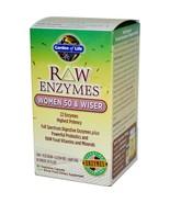 Garden of life enzymes women 50 wiser thumbtall
