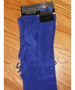 NWT $40 SAKS  GLOVE SCARF HEADBAND SET  Cobalt Blue - $18.58