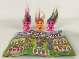 Dracco Totz Town 3pc Lot Trolls Princess Tracy Victoria Maya 2016 Foodie... - $18.76