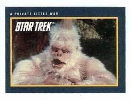 Star Trek card #165 A Private Little War - $3.00