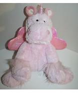"""Hobby Lobby Valentine UNICORN 15"""" Fluffy Pink Plush Soft Toy Kiss Stuffe... - $12.87"""