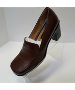 Jennifer Moore Brown Womens Pumps Loafer Style Slip On Size 6M Never Worn - $15.00