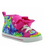 New JOJO SIWA Multi-Color/Pink Flip Sequin Hi-Top Sneakers Youth Girls S... - $41.58