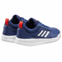 Adidas Kids Navy/White/Red Tensaur K Youth Court Tennis Shoes Size 1K NWT image 2