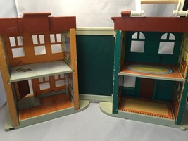 Vintage Fisher Price #938 Play Family Sesame Street House 1975-1976 Hous... - $40.54