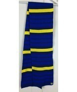 Paw Patrol Knit Scarf Kids OSFM Nickelodeon Blue Yellow Stripe NWOT Hall... - $14.80