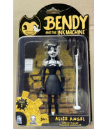 Bendy And The Ink Machine ALICE ANGEL 6 Inch Action Figure w/ Microphone NEW - $19.99