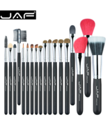 JAF® Makeup Brush Set Natural Super Soft Red Goat Hair & Pony Horse Hair... - $23.13