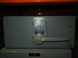 Square D QMB-3620-J Series 4 200A 3p 600VAC Single Fusible Panelboard Switch - $1,200.00