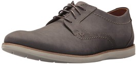 Clarks Originals Raharto Plain Men's Gray Leather Oxfords 26133688 US Size 11.5 - $130.00