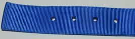 Valhoma 760 S26 BL Spike Dog Collar Blue Double Layer Nylon 26 inches Pkg 1 image 3