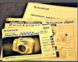 Fujifilm FinePix 2800 Zoom 2.0 MP Digital Camera Silver Vintage AA19-1389 image 4