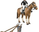 Bruder Horse - Woman and Riding Accessories Figure Set