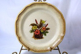 Mikasa 1981 Whole Wheat Line Autumn Song Salad Plate #E8003 - $5.54