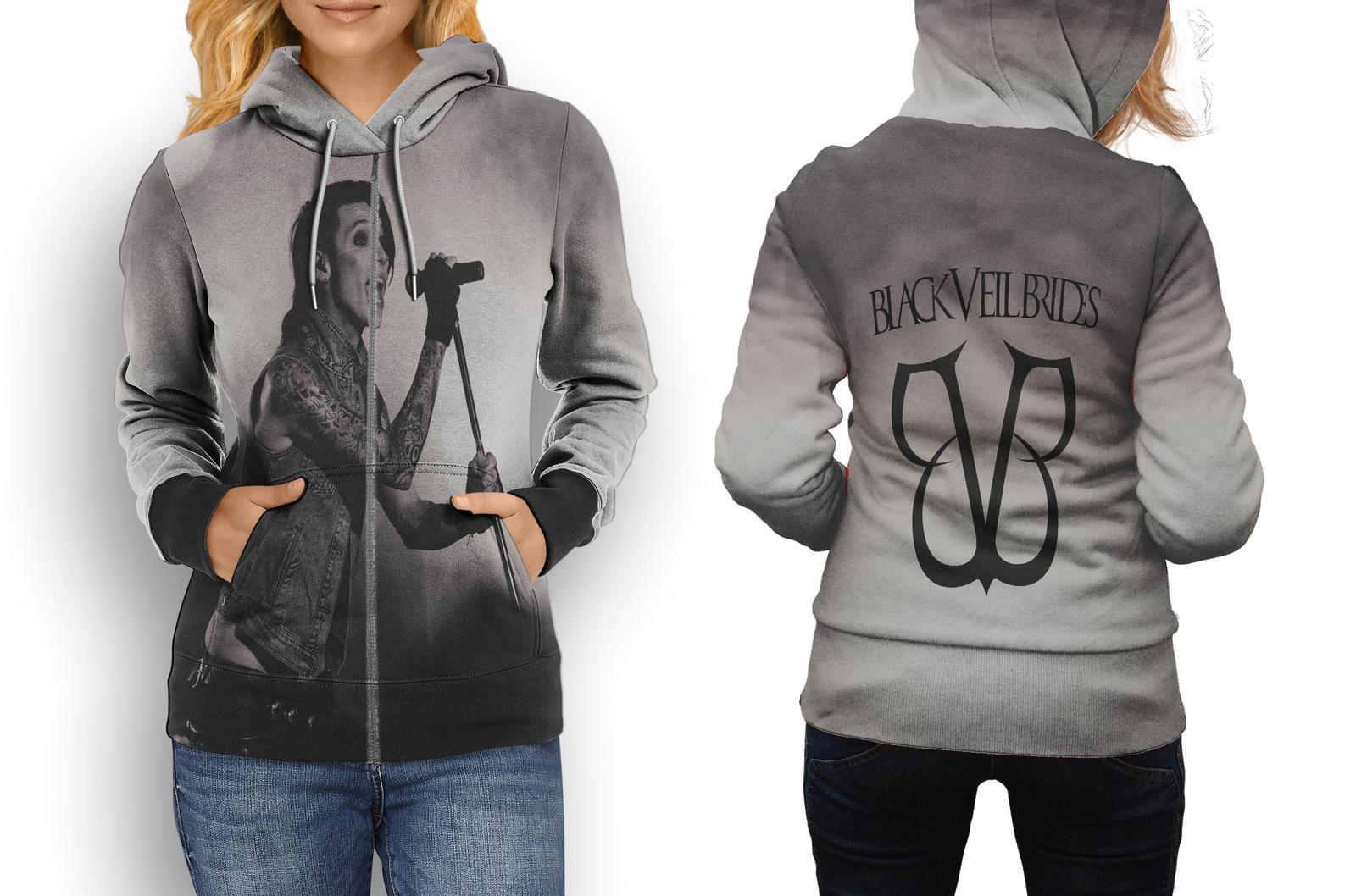 Black Veil Brides Collection #1 Women's Zipper Hoodie - $49.80 - $59.80