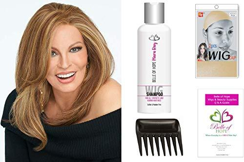 Primary image for NICE MOVE LF 5 PC Bundle: NICE MOVE LF wig by Raquel Welch, 4oz Luxury Shampoo,