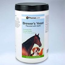 Thomas Labs Brewer's Yeast Garlic 16oz Powder - $16.16