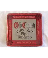 "Antique ""Old English"" Pipe Tobacco Tin - Circa 1910 - (sku# 1658) - $25.80"