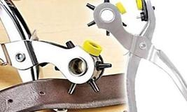 Hole Punch Tool for Belts, Shoes, and Shirts Includes 75 pieces of eyelet - $19.99