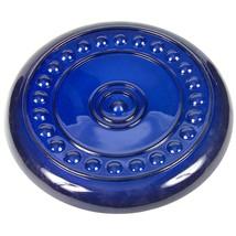 Pet Buddies Pooch Fling N Fetch 9 Inch Dog Toy Flying Disc Blue Frisbee ... - $14.39