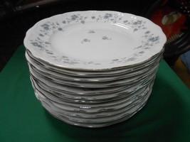 Beautiful Collectible Johann Haviland Bavaria Blue GARLAND-Set 13 Dinner Plates - $66.24