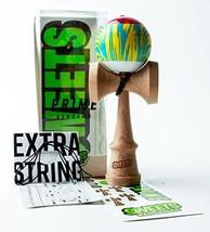 Sweets Kendamas Grain Split 2.0 Prime Kendama, Sticky, Extra String Acce... - $35.47