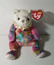 TY Beanie Babies Birthday Bears June 2001 Retired 2001 - $10.95