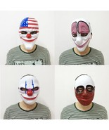 Scary Clown Mask Halloween Party Carnival Fancy Dress Horror Costume Fac... - $4.19+