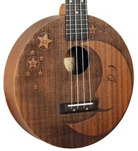 Eddy Finn EF-Moon Ukulele Super and Unusual Looks - $94.95