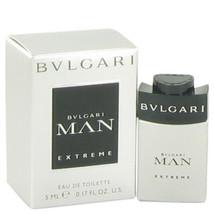Bvlgari Man Extreme by Bvlgari Mini EDT .17 oz (Men) - $17.84