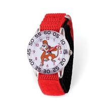 Disney Kids Aladdin Abu Time Teacher Red Nylon Band Watch - $43.50