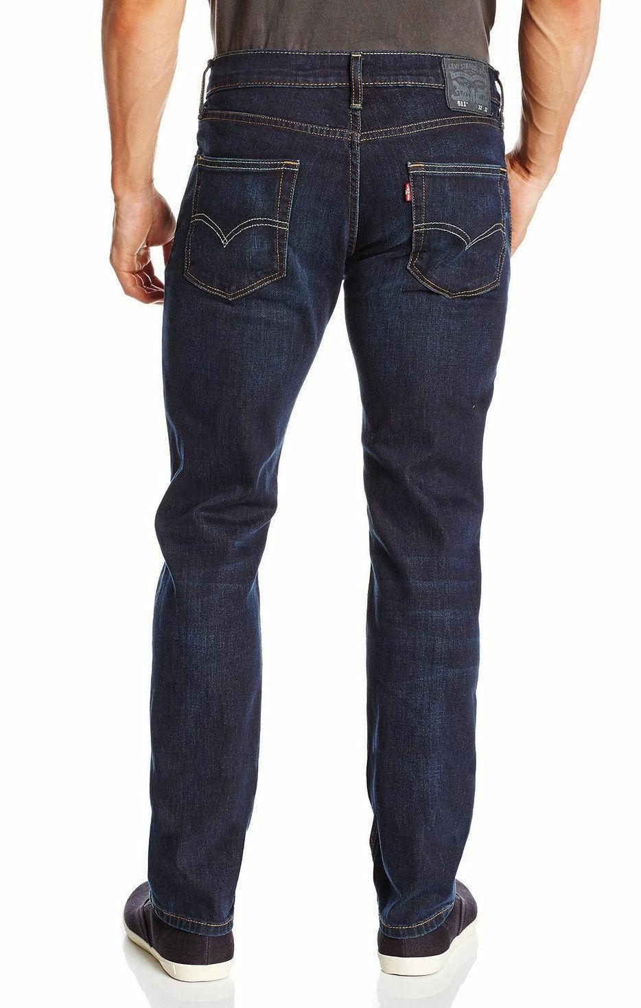 Levi's Strauss 511 Men's Original Slim Fit Premium Denim Jeans 511-1390