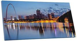 "Pingo World 0830QMRPRFA ""St Louis KY Panoramic Skyline"" Gallery Wrapped Canvas W - $57.37"