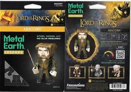 Lord of The Rings Aragorn Metal Earth Legends 3-D Laser Cut Steel Model ... - $11.60