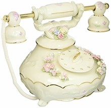 Cosmos SF49024 Fine Porcelain Telephone Musical Figurine, 5-1/8-Inch - $48.11