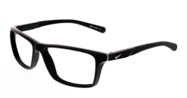 Nike Eyeglasses 7087 c. 014 in Black / Wolf Gray 54mm - $102.84