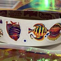 Vintage Lisa Frank Rollouts 90s Kissing Fish YAY HTF Throwback image 3