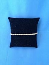 Sterling Silver Rope Bracelet  .925 - $29.69